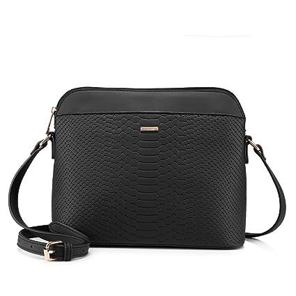 sortie en ligne livraison rapide Royaume-Uni disponibilité Sac a Main Femme Sacs bandoulière de Style Sacs portés épaule- Noir