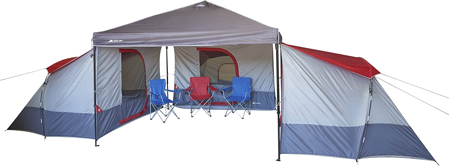 ConnecTent For Straight-leg Canopy Ozark Trail 4-Person 9 X 7 Ft