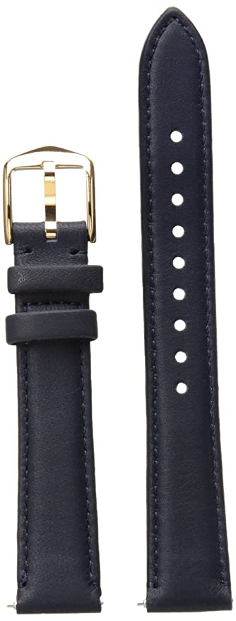 4aaa6c114 Fossil Women's 16mm Leather Watch Band, Color:Blue (Model: S161035)