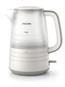 Philips Daily HD9334/20 - Hervidor de Agua, 2400 W, 1.5 Litros, Color Blanco: Amazon.es: Hogar