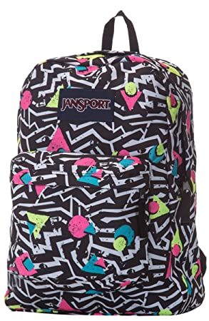 Jansport Superbreak Black White Bobop T5010EJ