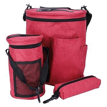 Amazon.de: Premium Large Stricken Tasche, leicht tragbar Oxford Tuch ...