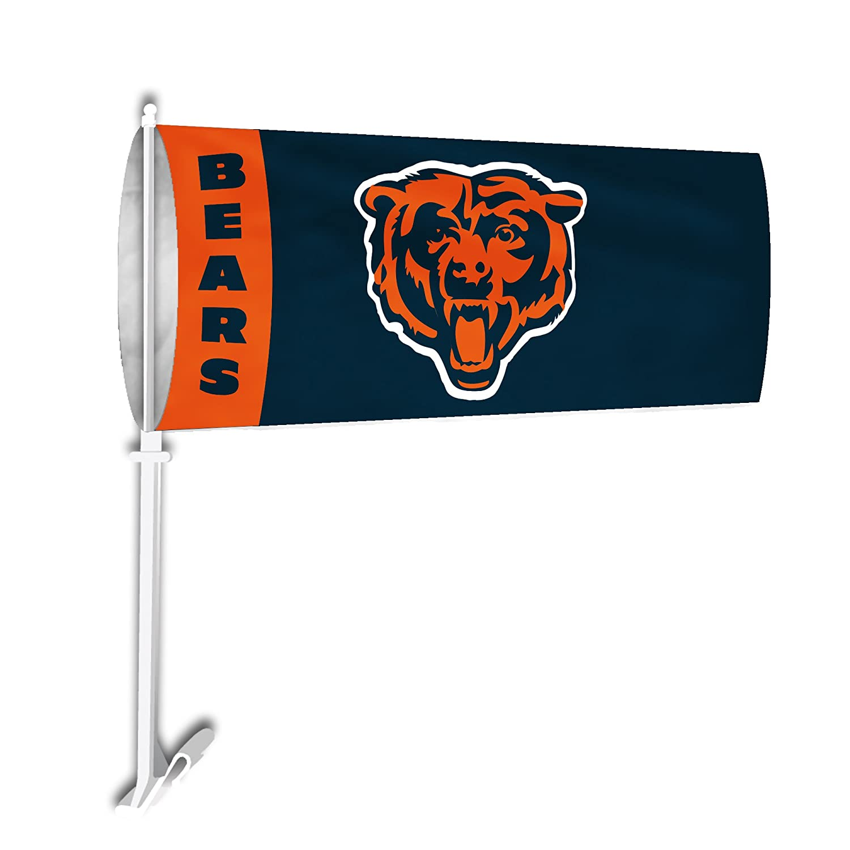 Fremont Die NFL Chicago Bears Car Sock Flag Fulfillment Advantage Ventures Inc 93001