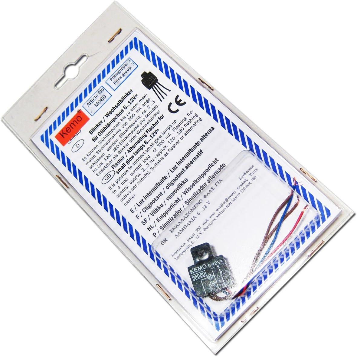 Blinker Wechselblinker Für Lämpchen 6 12v Dc Kamera