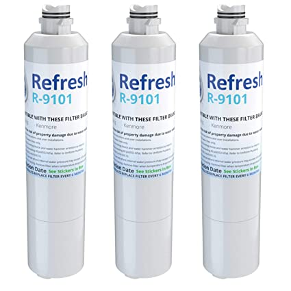 .com: replacement water filter for samsung rf28hmedbsr/aa ...