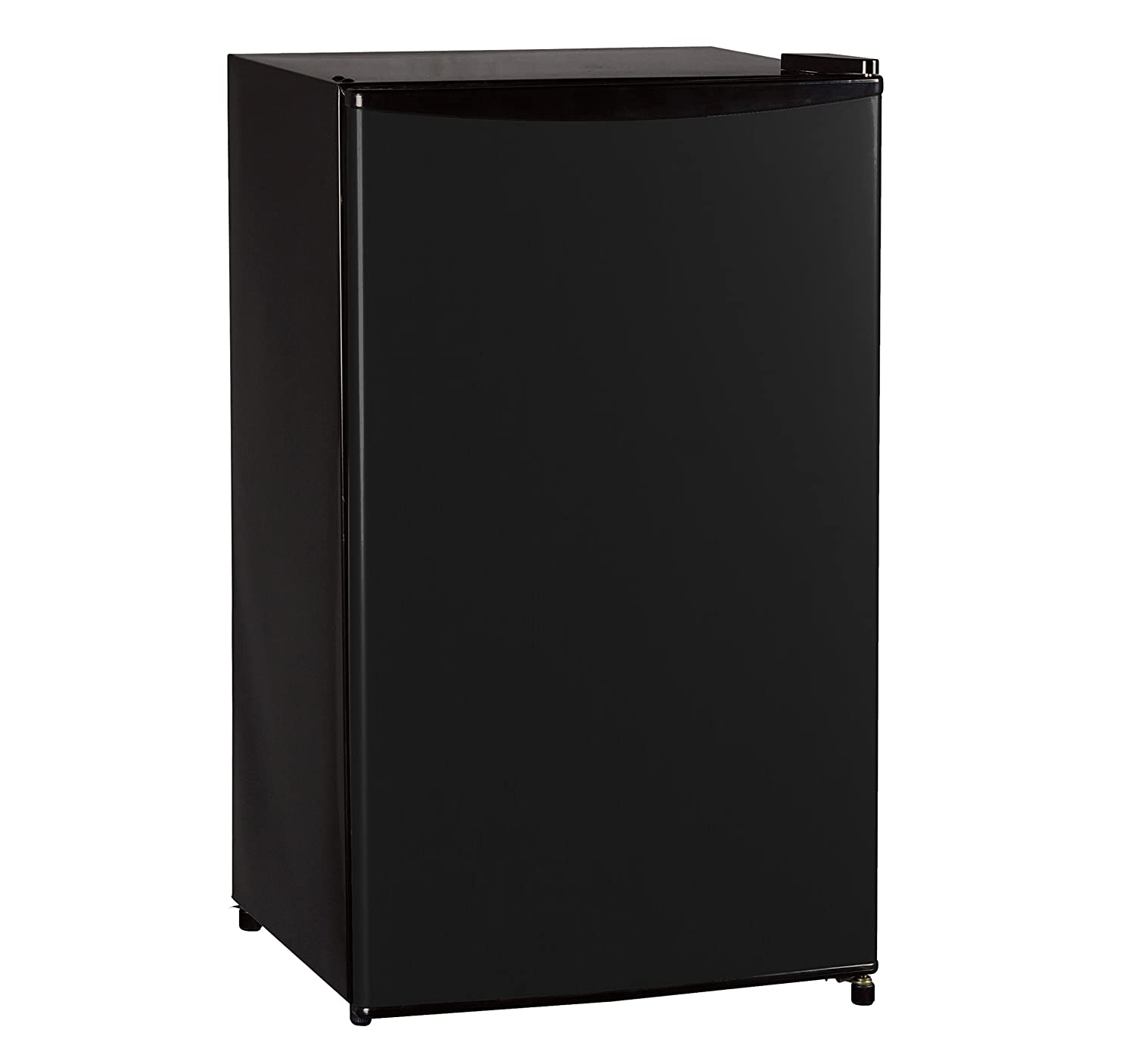 Midea WHS-121LB1 Compact Single Reversible Door Refrigerator and Freezer, 3.3 Cubic Feet, Black