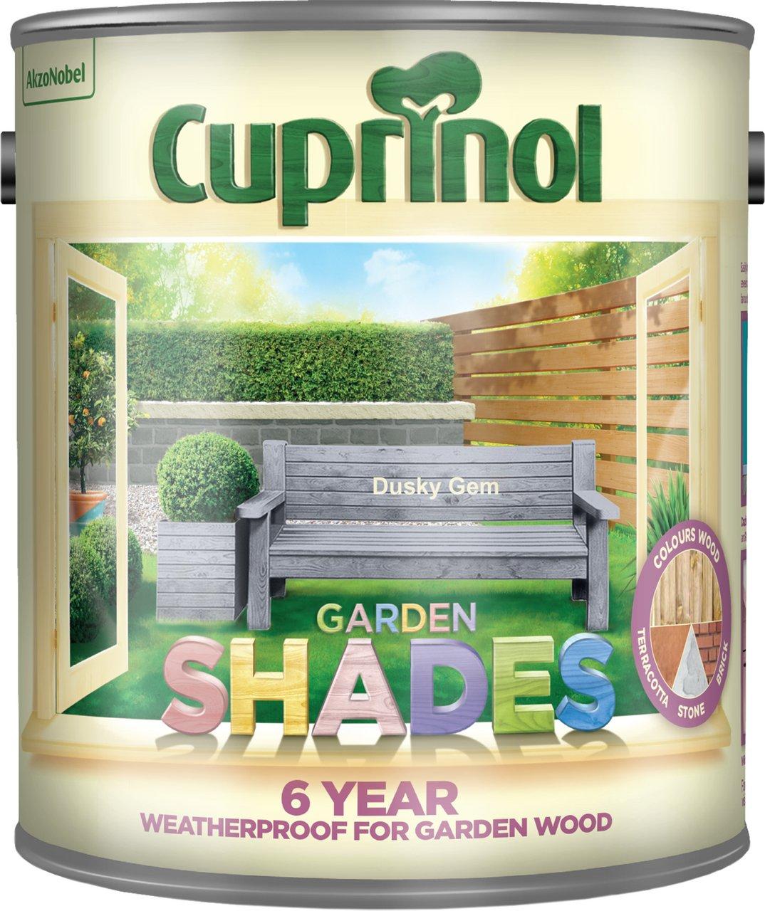 Cuprinol 2.5 Litre Garden Shades Special Mix Colours Dusky Gem