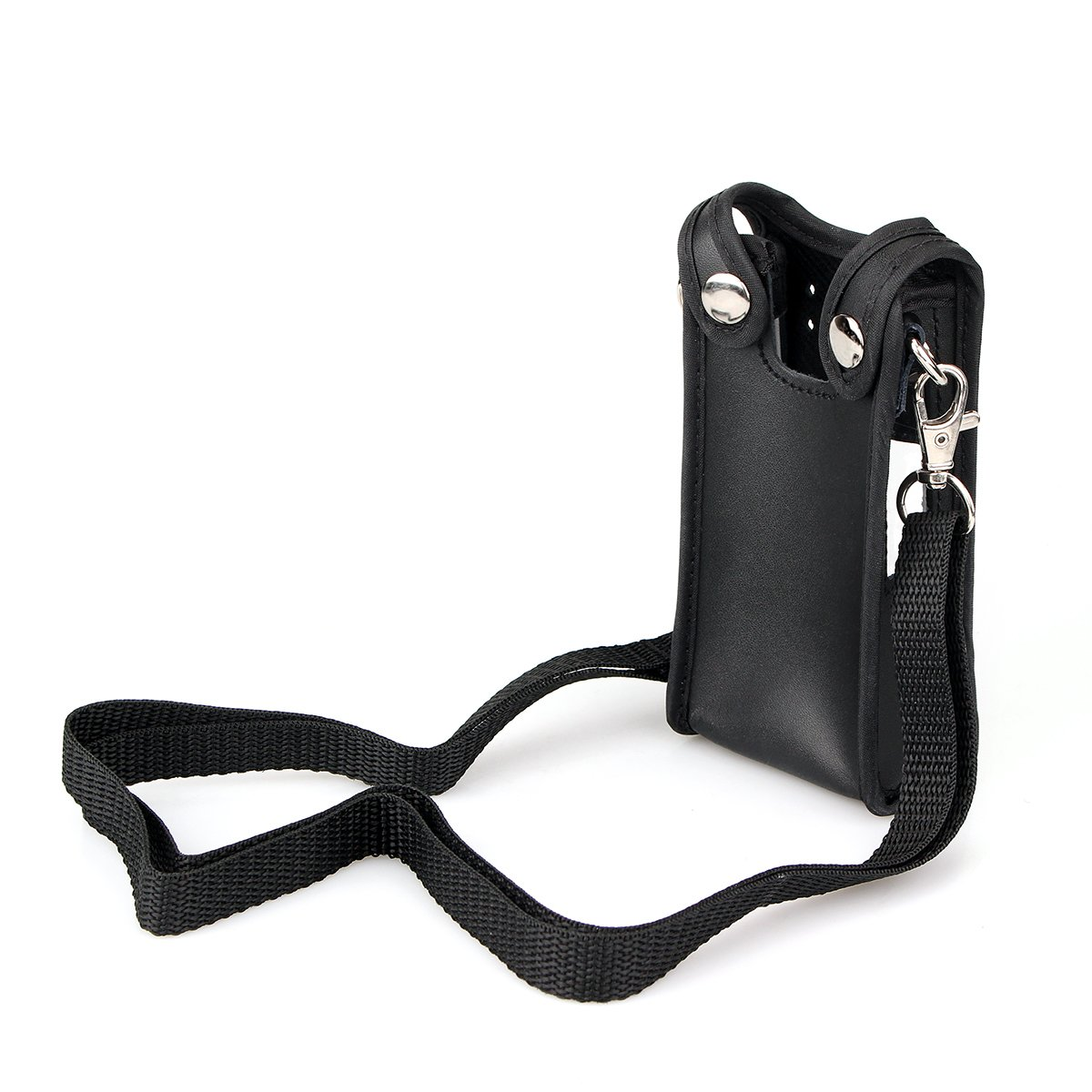 Ailunce Two-way Radio Case Leather Case Carrying Holder Holster for
