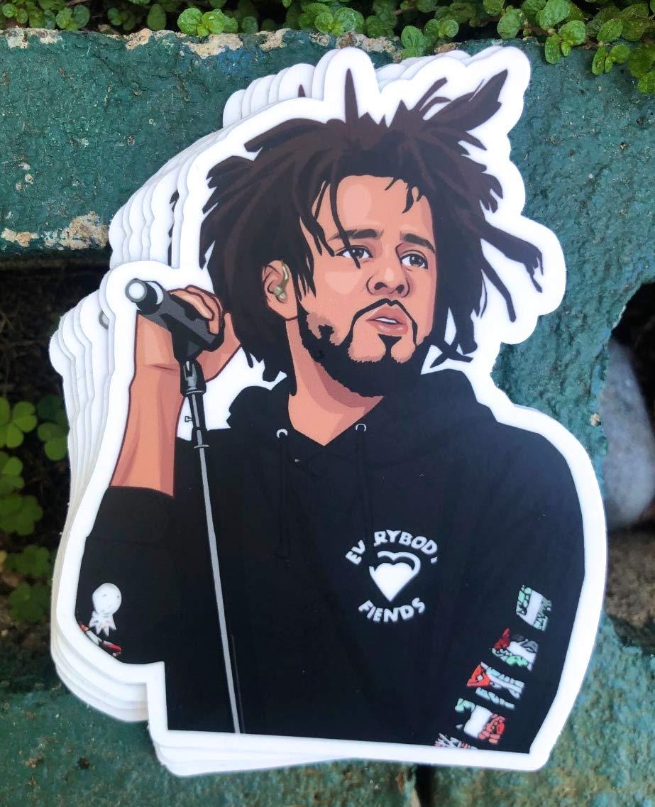 1 Cole World Sticker - One One 4.5 Inch WaterProof Vinyl - For Hydro Flask Skateboard Laptop etc