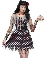 Adult Rockabilly Zombie Costume