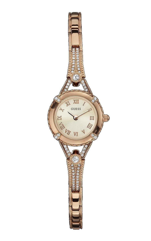 Amazon.com: Guess Ladies W0135L3 Rose Gold Bracelet Watch ...
