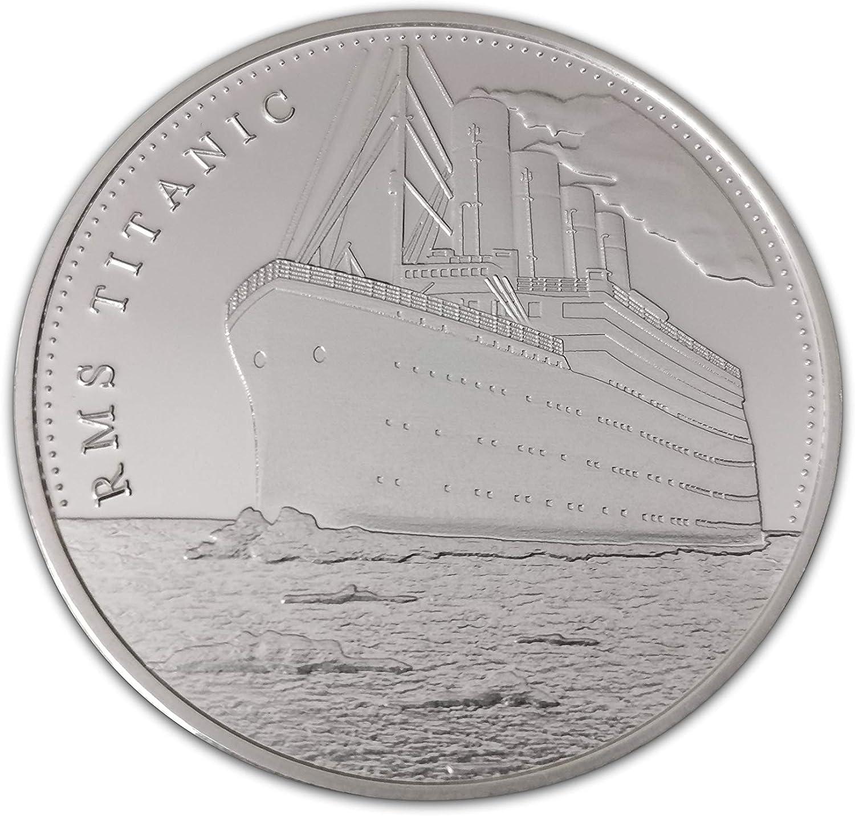 Titanic White Star Line 100 Aniversario Moneda Conmemorativa y Coleccionable: Amazon.es: Hogar