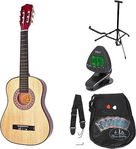 ts Music Fidelity - Guitarra clásica para niños completa con ...