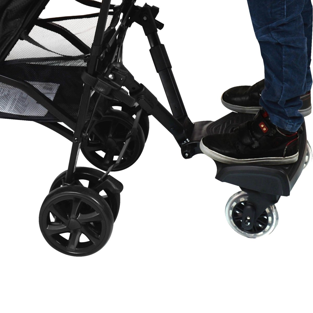 BuggyBoard Repose-pied si/ège pour poussette Buggy Jogger /à 20/kg