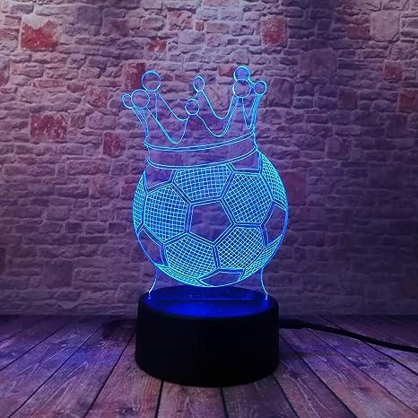 wangZJ 7 Cambio de color de luz nocturna/de colección Mesa ...