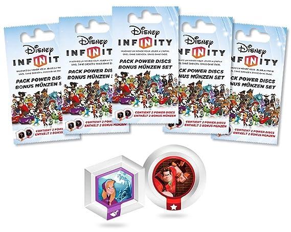 Disney Infinity 5 Packs De 2 Power Discs Vague 2 Amazonfr Jeux