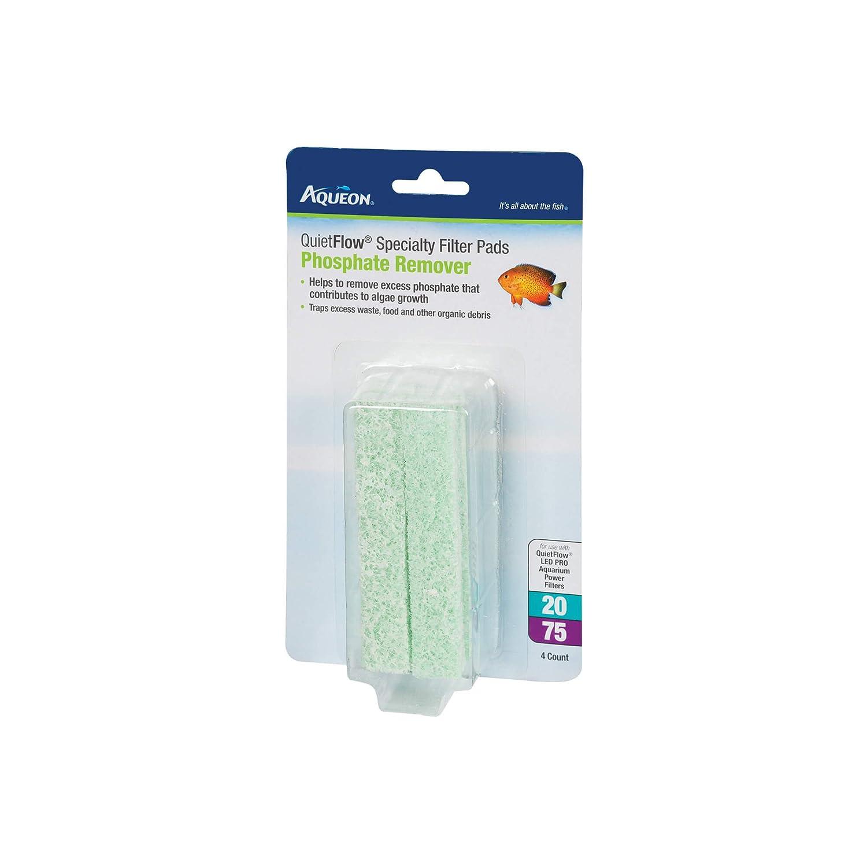 Aqueon Quiet Flow 20//75 Phosphate Reducing Specialty Filter Pad