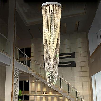 Luces de techo con diseño de araña de cristal LYJ; luces ...