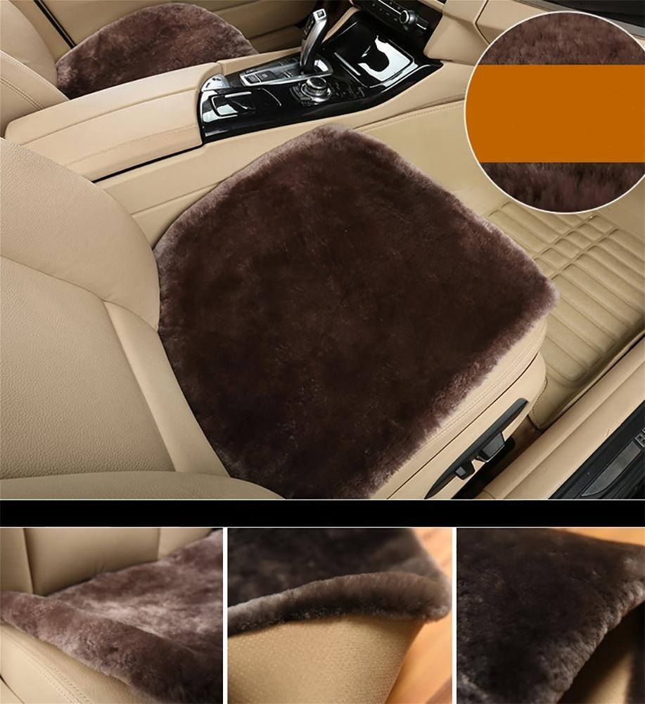 Sheepskin Seat cushion? The non-slip comfort in a car, airplane, in the office or at home. by YAOHAOHAO (Image #2)