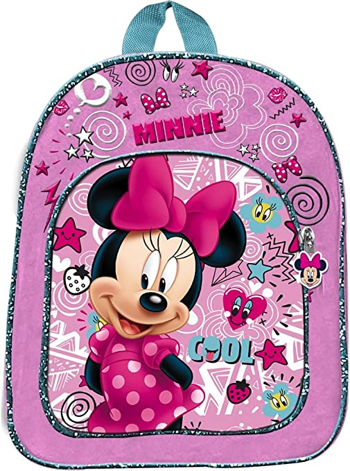 grande vendita 83a0a 33c8d Star Licensing Disney Minnie Zainetto Medio Zainetto per Bambini, 32 cm,  Multicolore