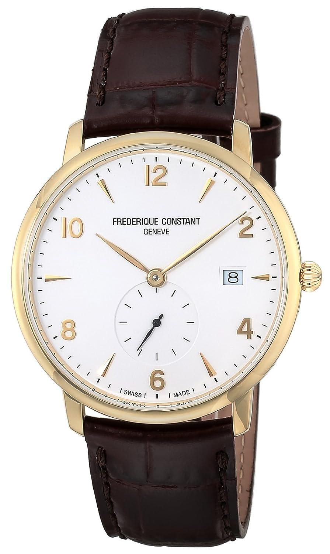 [フレデリックコンスタント]FREDERIQUE CONSTANT 腕時計 スリムライン ホワイト文字盤 245VA5S5 メンズ 【並行輸入品】 B0728HWW8N
