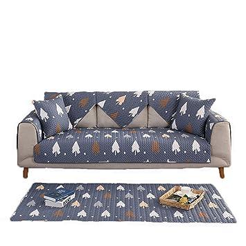 Charmant Blaues Sofa Dämpfung Handtuch Für Haustiere Hund Möbel Protector Cover  Slipcover Ganze Saison Waschbar Anti