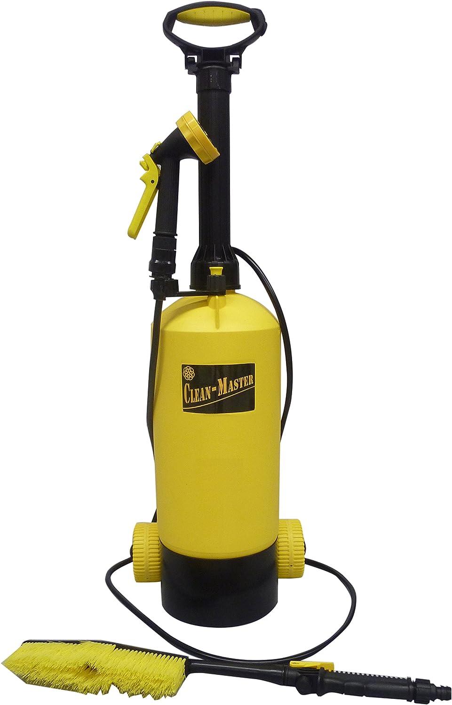 マルハチ産業 キャスター付き お掃除用 ポンプ式 水圧クリーナー CLEAN - MASTER 8L B073RY4HG4