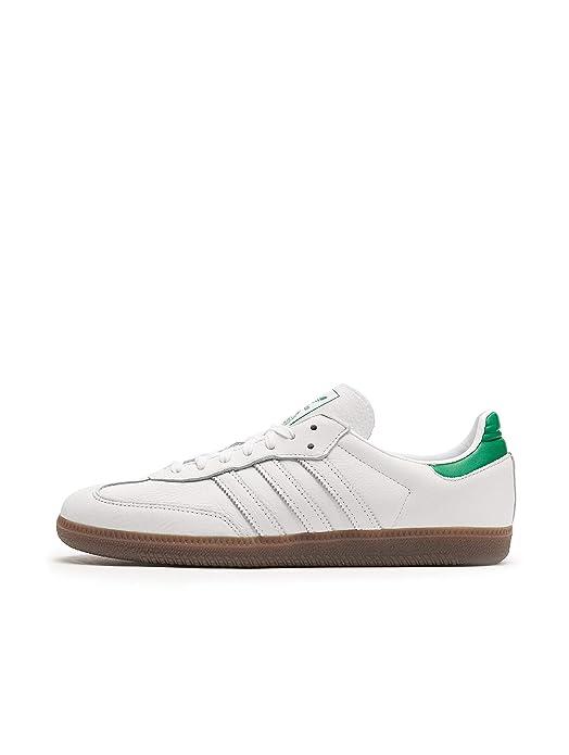 adidas Samba oG Schuhe Herren weiß mit grün