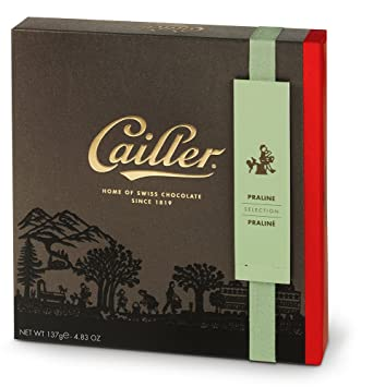 CAILLER Praliné Chocolate Selection Small Box Assortment, 4.72 Ounce