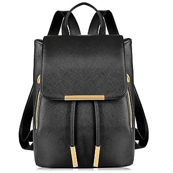 5f9f99a32d85f Vbiger Damen Rucksack Elegant Damen Daypack Schultertasche Schwarz  Reiserucksack