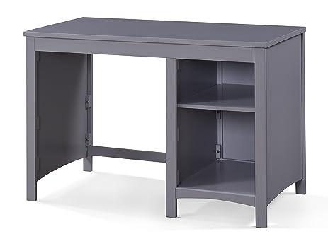 Better Homes And Gardens Panama Beach Desk, Pebble Gray