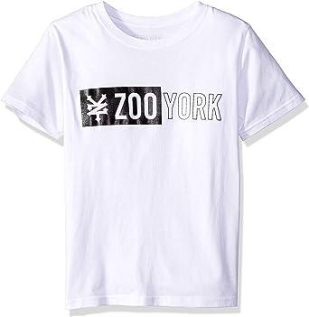 Mens Sizes S-XXL Official White Zoo York T-shirt Tape