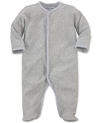 18047f1ecb32 Amazon.com  Ralph Lauren Baby Boys Pony Cotton Footed Coverall ...