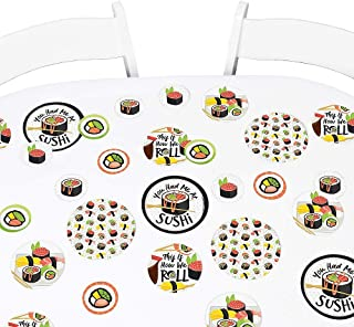 product image for Big Dot of Happiness Let's Roll - Sushi - Japanese Party Giant Circle Confetti - Party Decorations - Large Confetti 27 Count