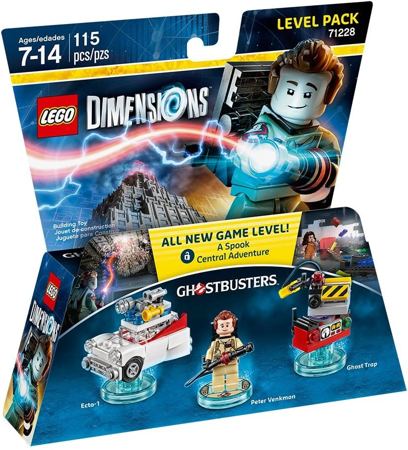 Amazon.com: Ghostbusters Level Pack - LEGO Dimensions: not machine ...