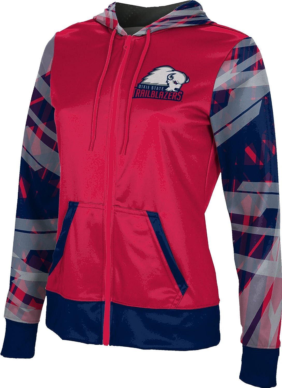 School Spirit Sweatshirt Crisscross ProSphere Dixie State University Girls Zipper Hoodie