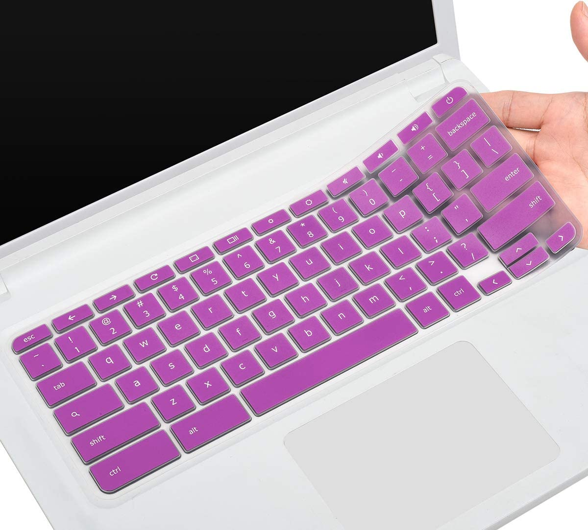 CaseBuy Keyboard Skin Cover Compatible11.6 Acer Chromebook 11 CB3-131 CB3-132 / Chromebook R 11 CB5-132T / 13.3