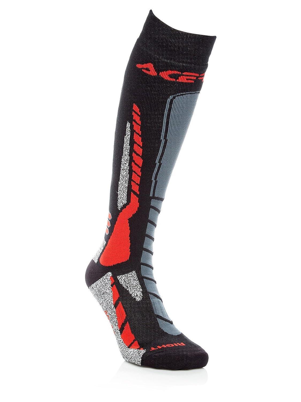 Acerbis Calze motocross MX Pro nero/rosso 0022077