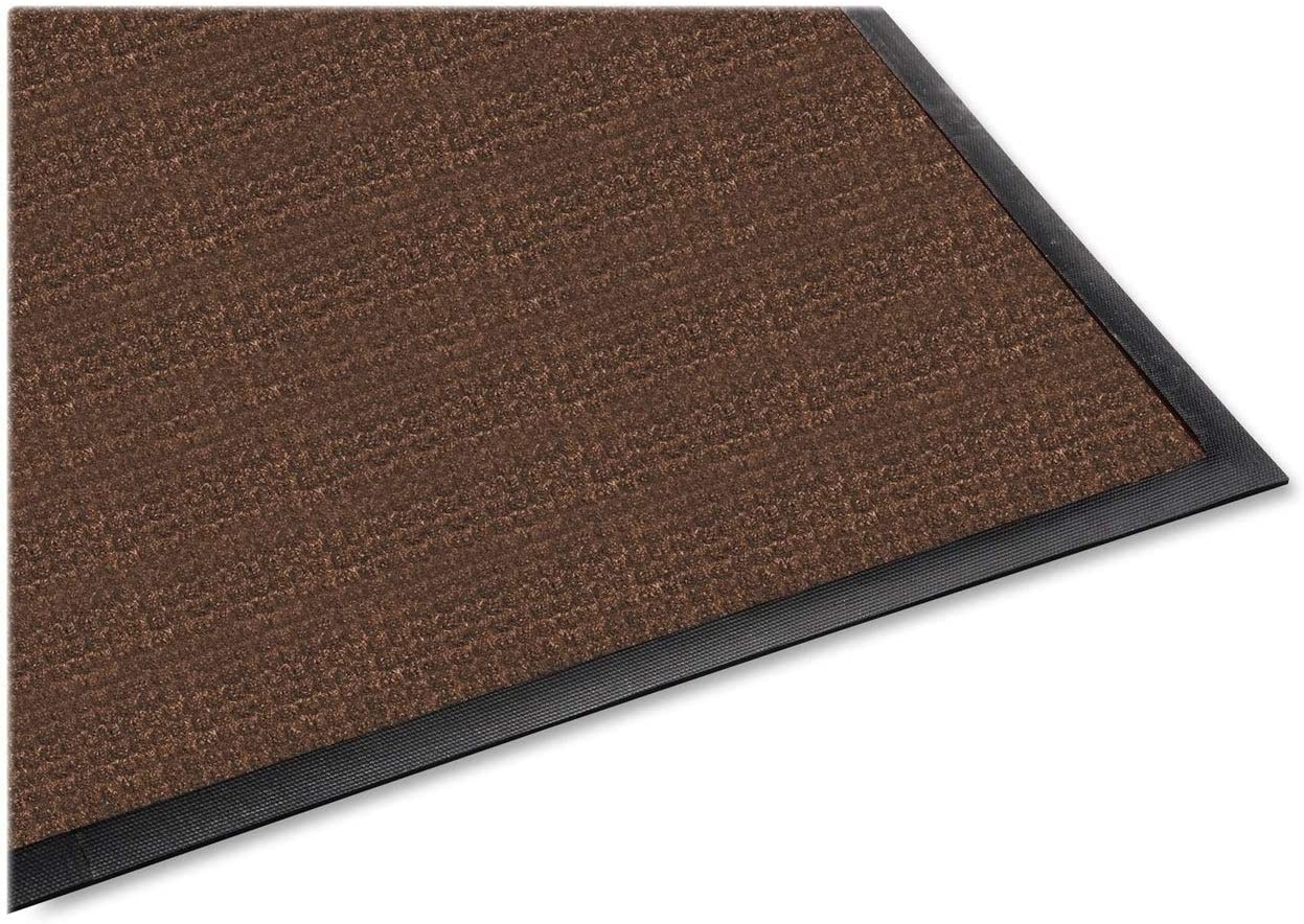 Genuine Joe Indoor Outdoor Mat, Water Guard, 3 by 5-Feet, Brown