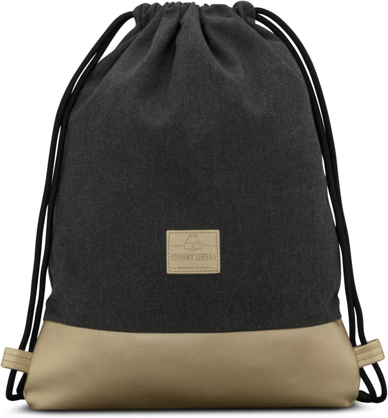 Johnny Urban Drawstring Bag Anthracite//Gold Gymsack Gym Sack Men /& Women
