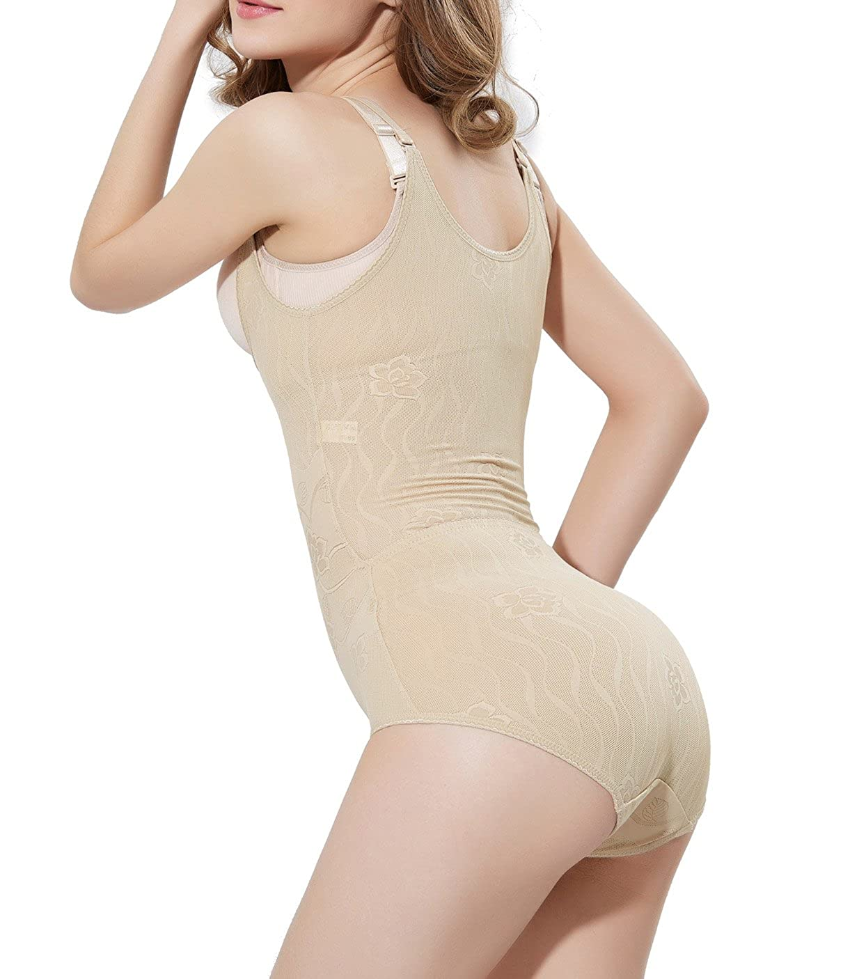 ad2255a55 SLTY Tummy Slimming Body Shapewear Waist Cincher Corset High-Waist Seamless  Firm Control Panty at Amazon Women s Clothing store