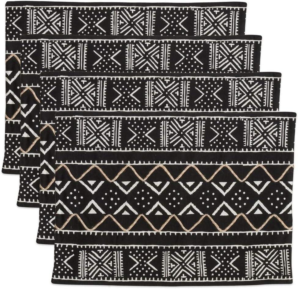 Cloth Placemats Tribal Aztec Trendy Moroccan Boho Mudcloth Set of 2