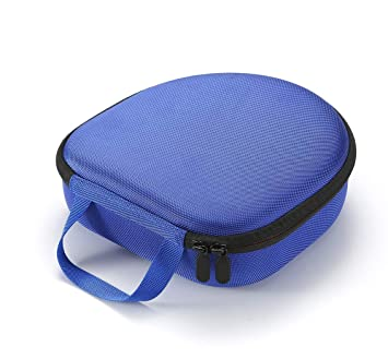 Estuche rígido para Auriculares con cancelación de Ruido inalámbricos Sony WH-CH700N, Bolsa de Almacenamiento portátil para Viaje - Azul
