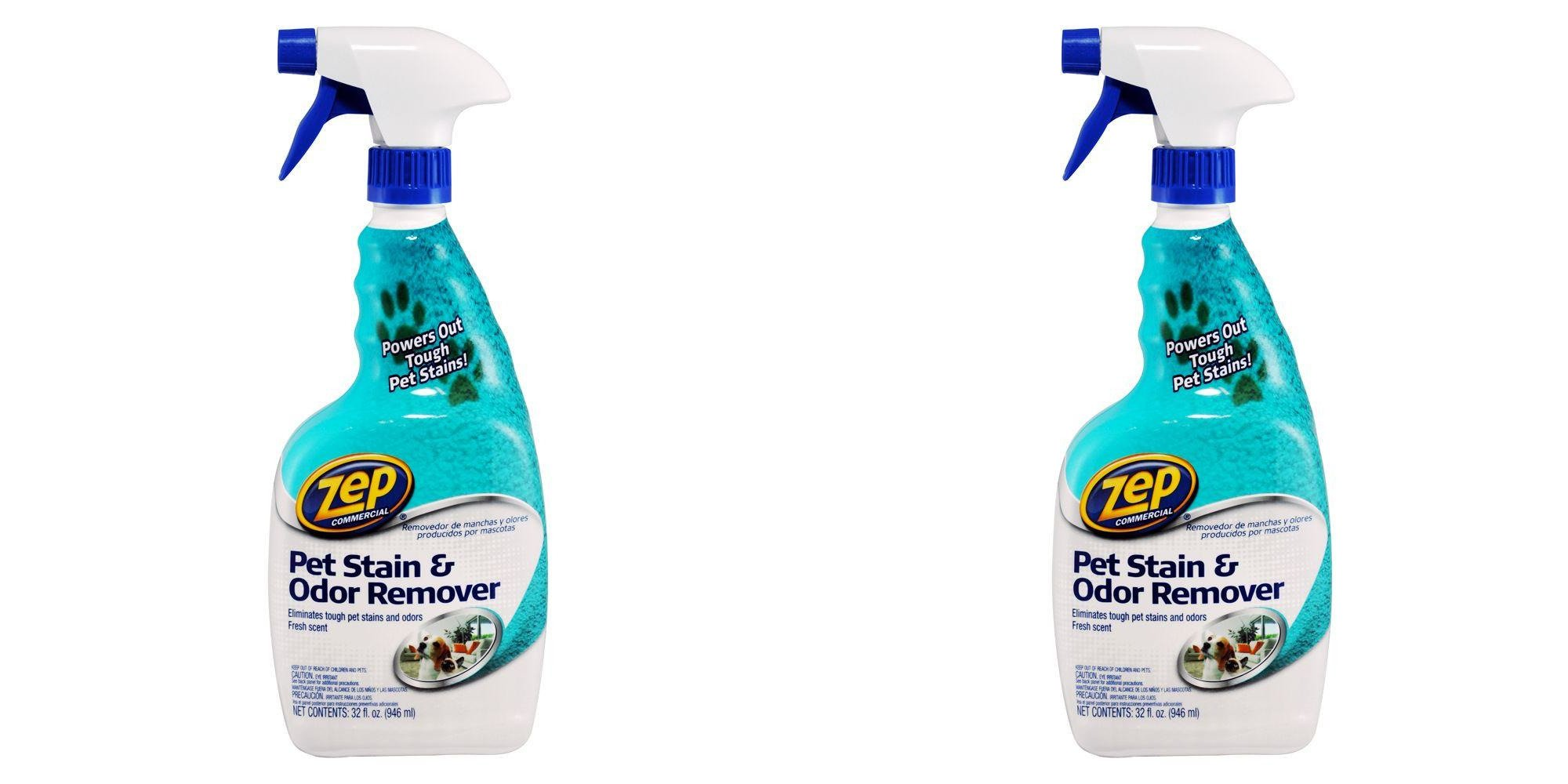 ZEP Commercial PET STAIN & ODOR REMOVER Oxy Formula 32 oz. (2 PACK)