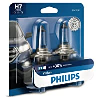 Philips 12972PRB2 H7 Vision Upgrade Headlight Bulb, 2 Pack