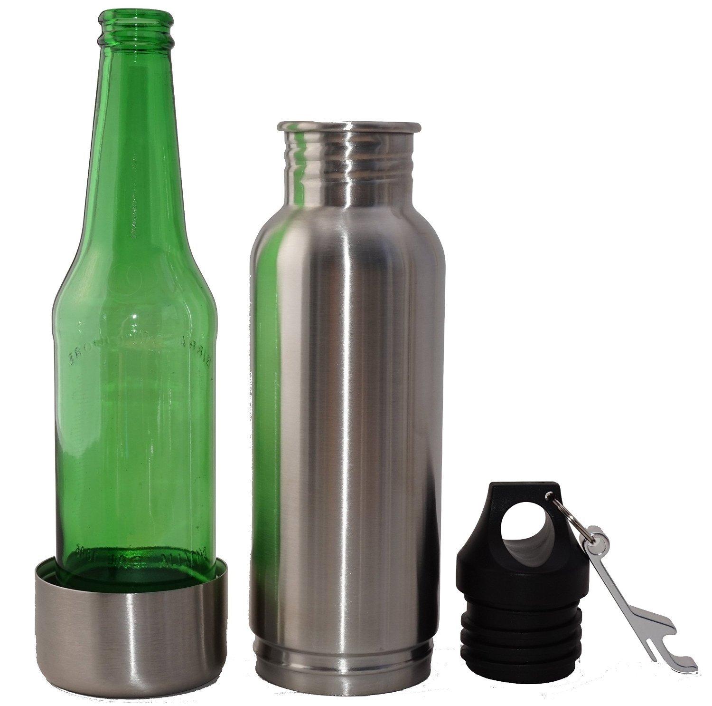 amazon com modern living kool koozie stainless steel bottle holder