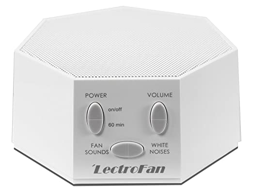 Amazon.com: LectroFan High Fidelity White Noise Machine with 20 Unique Non-Looping Fan and White Noise Sounds and Sleep Timer, FFP: Health & Personal Care