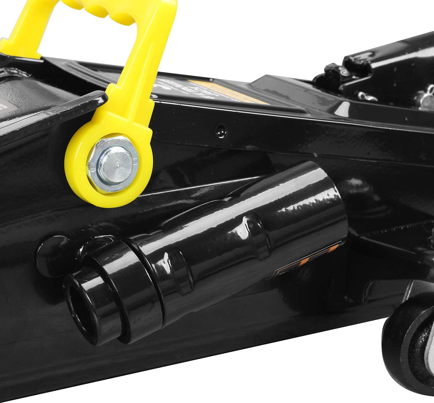 Torin AT83006B Hydraulic Trolley Service//Floor Jack with Extra Saddle: 3 Ton Black Capacity 6,000 lb