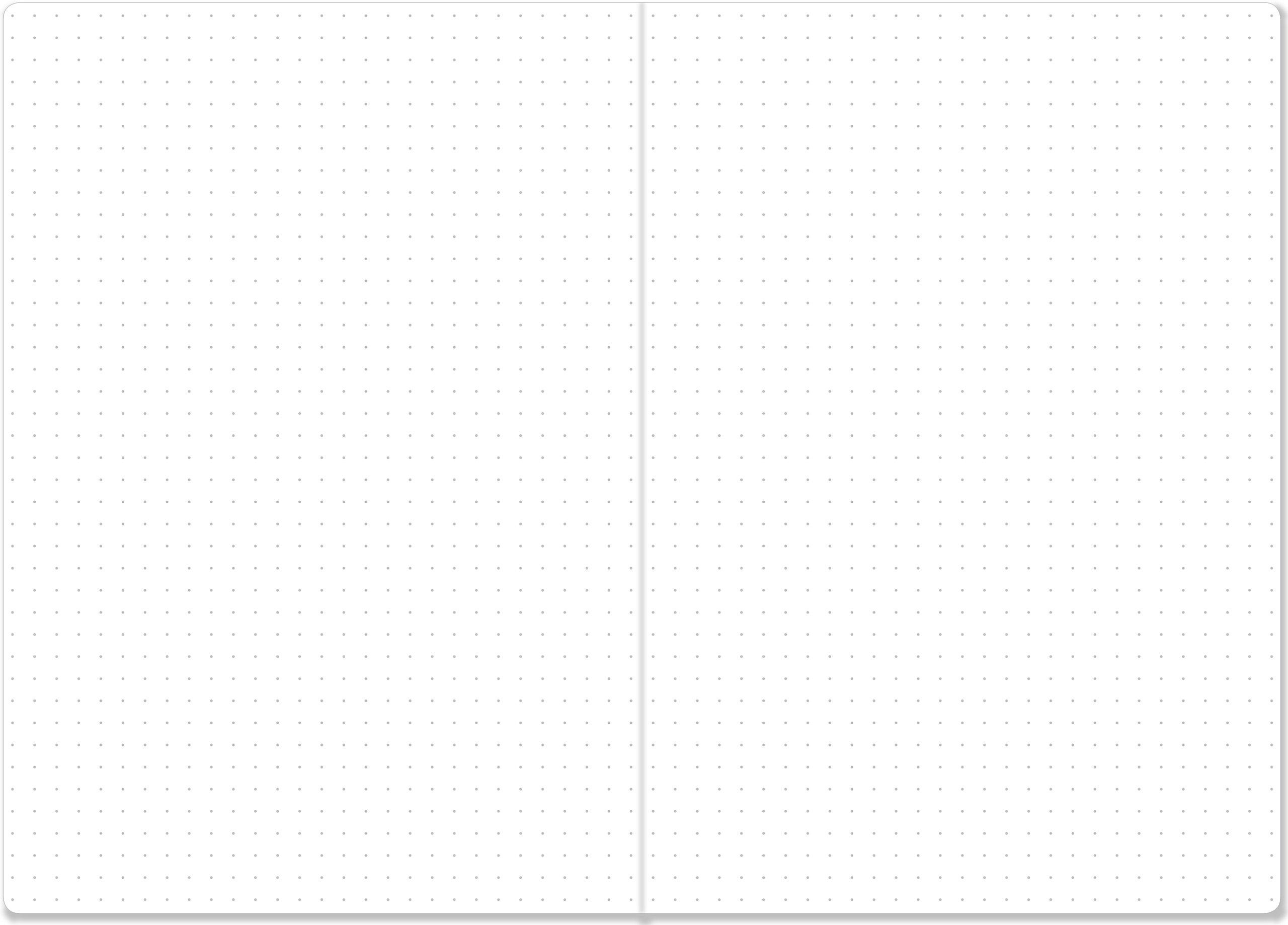 Essentials Dot Matrix Notebook, A5 size (Bullet Journal): Peter ...