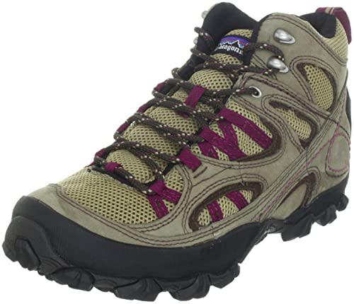 Patagonia Womens Drifter AC Mid Hiking Shoe, Dark Burlap/Magenta, ...